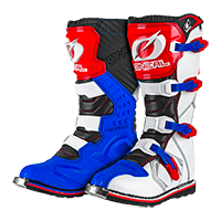 BOTAS ONEAL RIDER BOOT BLUE/RED/WHITE ADULTO
